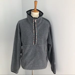 The North Face Half Zip Tribal Detail Pullover